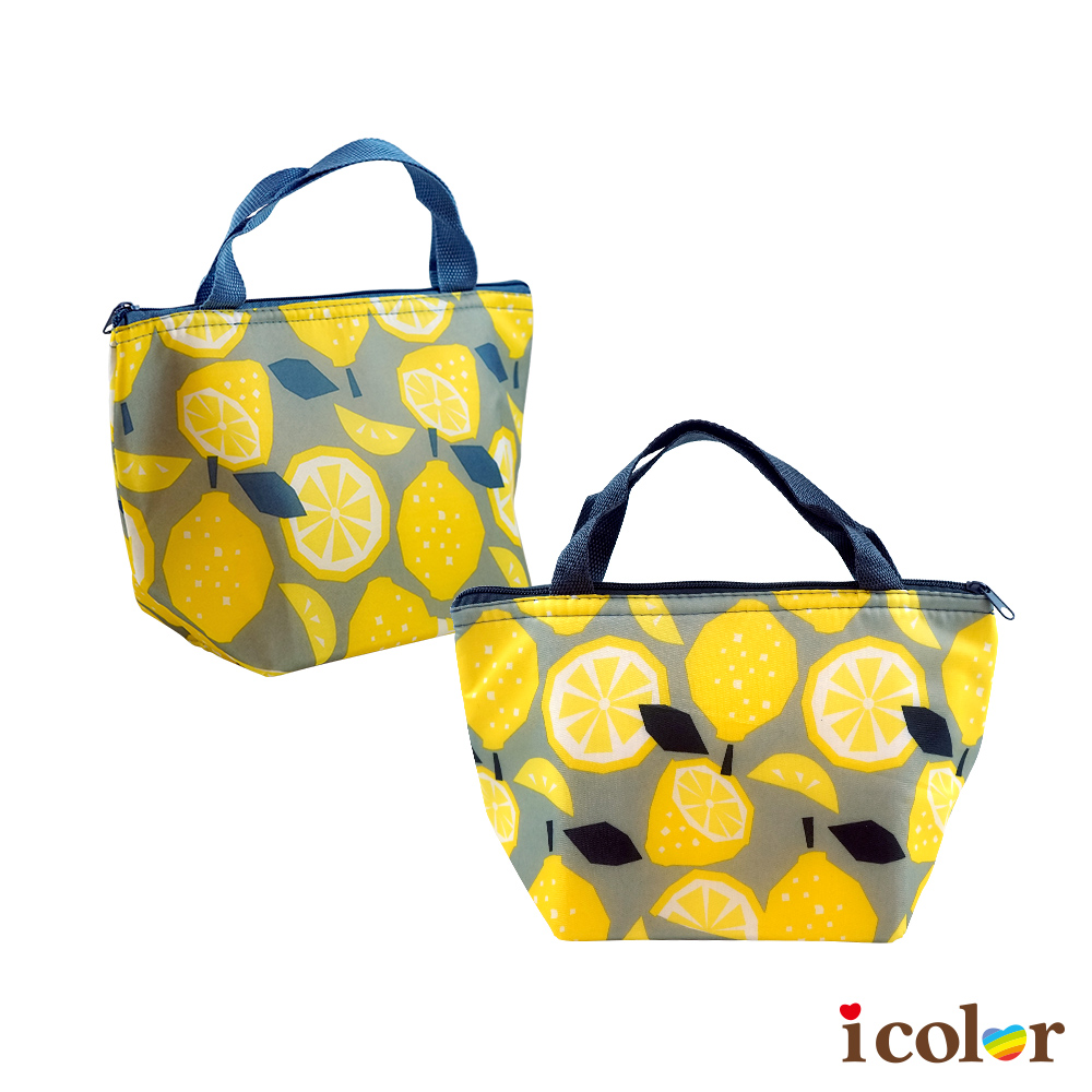 檸檬保溫兩用便當袋