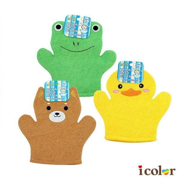 動物造型沐浴手套