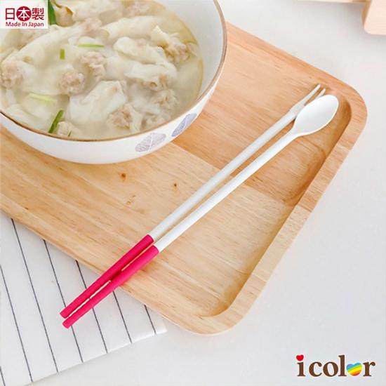 彩色多功能矽膠料理筷