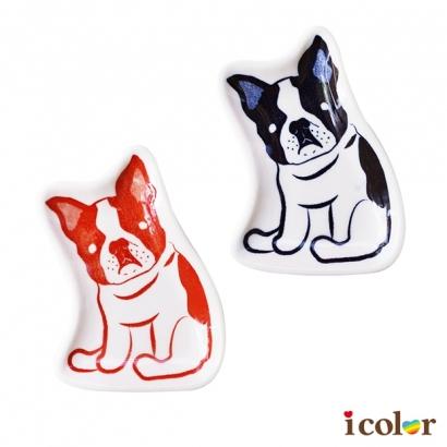 狗狗造型陶器皿