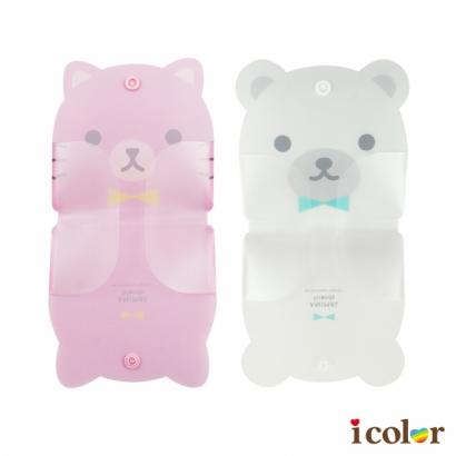 造型口罩收納夾(熊&貓)